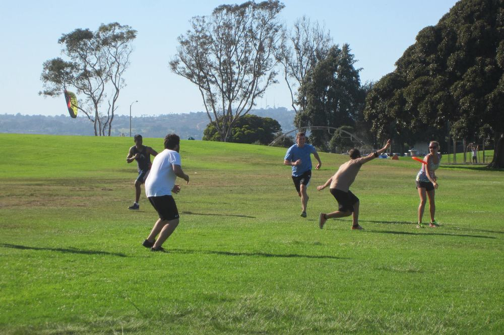 Ultimate Frisbee Game 2
