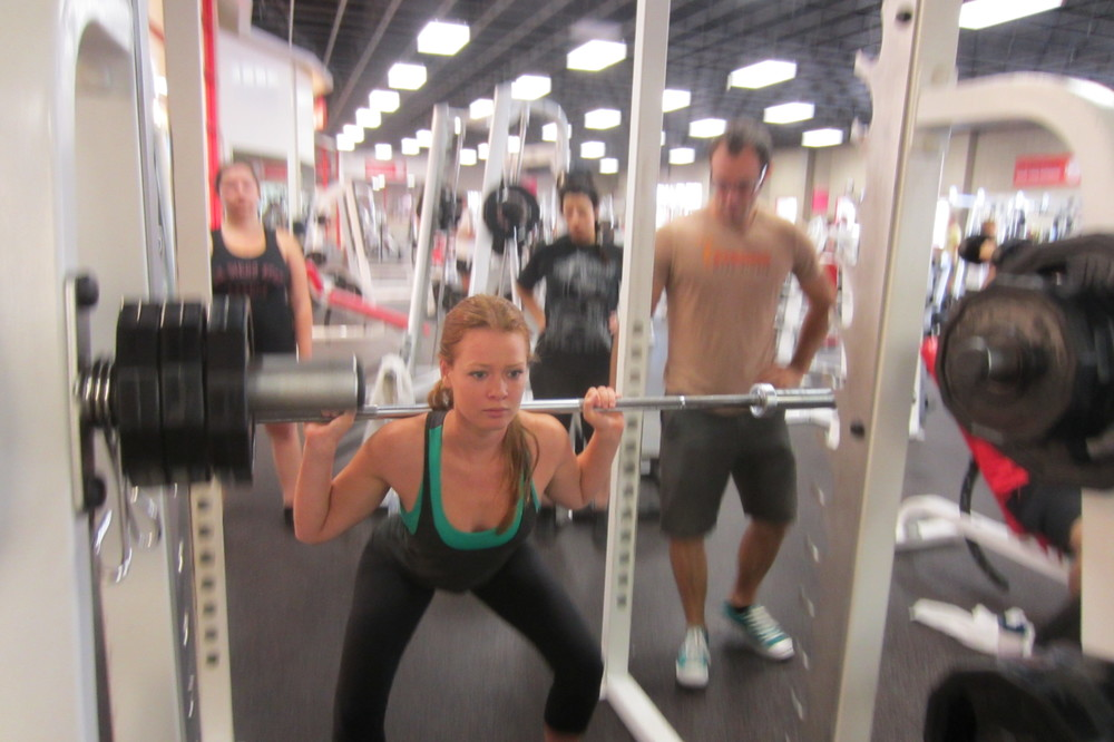 Beginning Back Squats