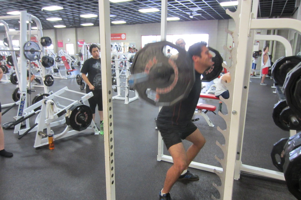 Loading the Squat