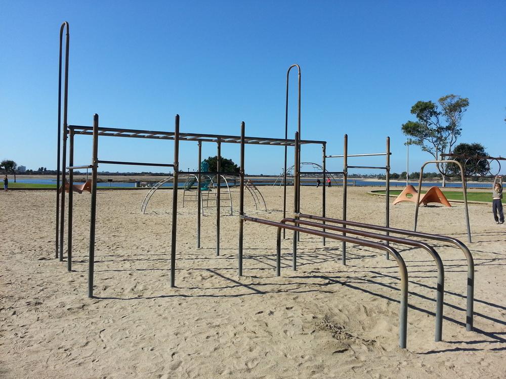 Playground Workout Strength Training