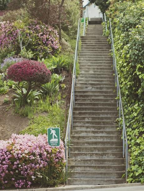 Running Secret Stairs Of La Mesa
