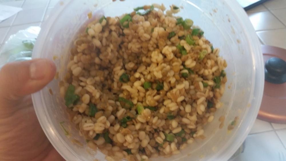 green lentil bulgur salad recipe