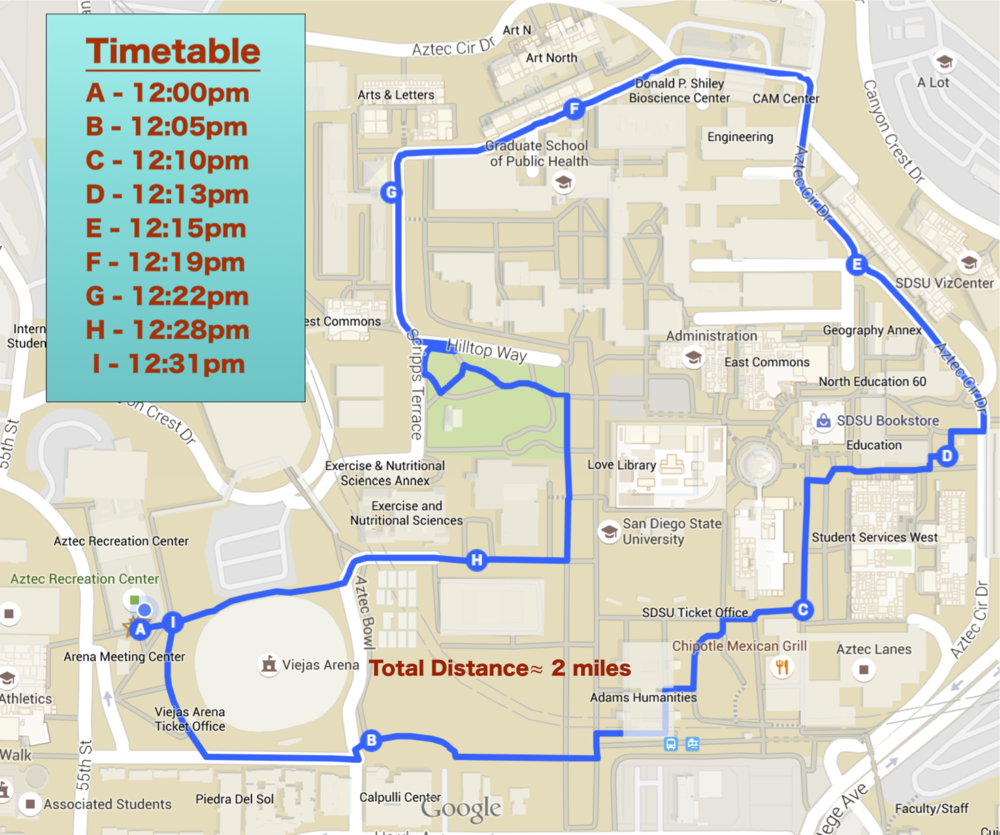 Enter your email above and get a  .pdf copy  of this walking route map and general updates as they happen.