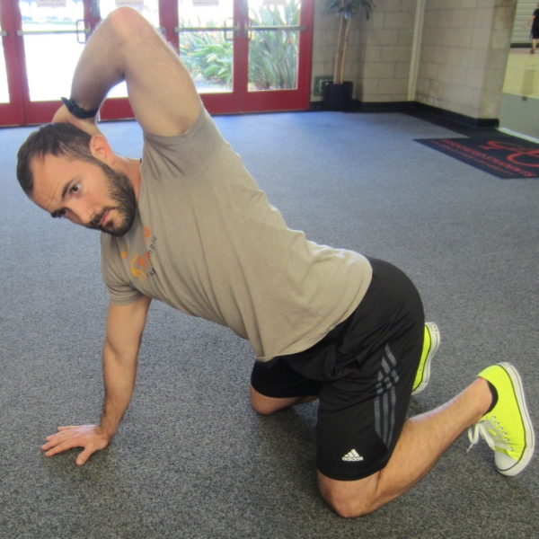 T-Spine Mobility Drill