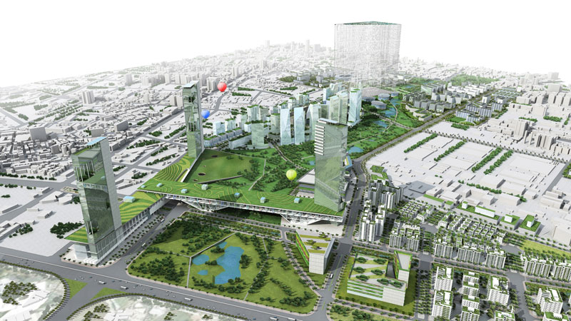 Taichung Gateway Park City © Taichung City Government