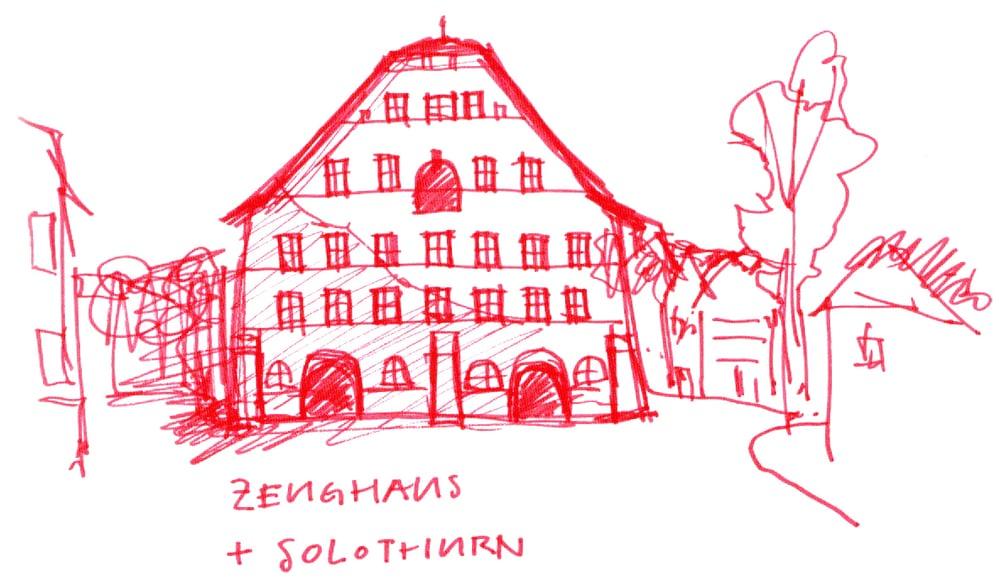 Zeughaus und Solothurn