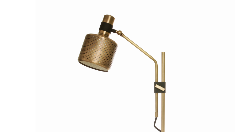 Bert Frank Riddle single table lamp