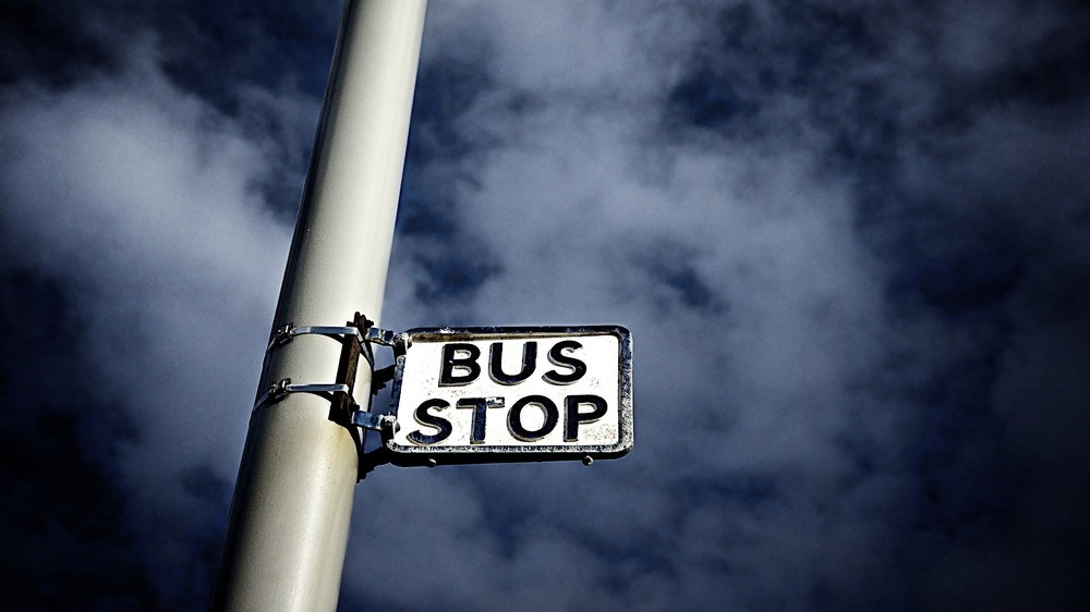Dramatic Bus stop