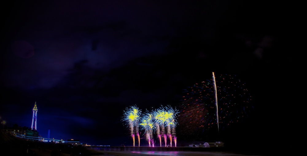 Blackpool Fireworks Championships - China (Friday 13th September 2013) - 01