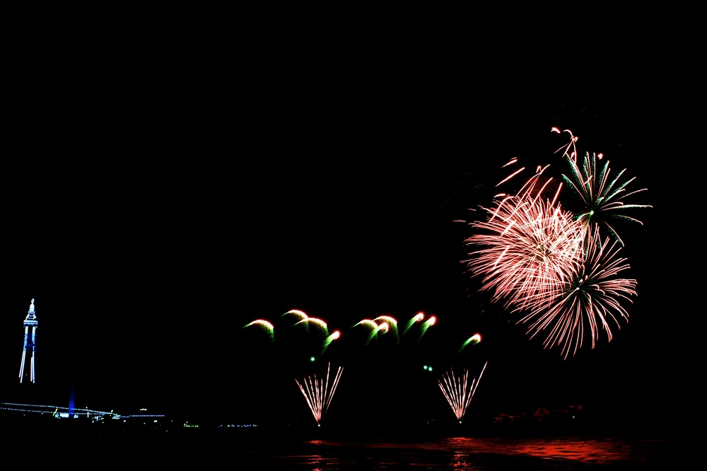Blackpool Fireworks Championships - China (Friday 13th September 2013) - 02