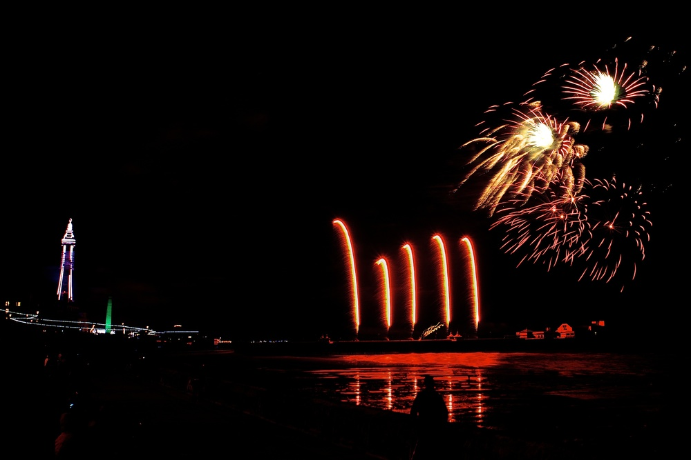Blackpool Fireworks Championships - China (Friday 13th September 2013) - 03
