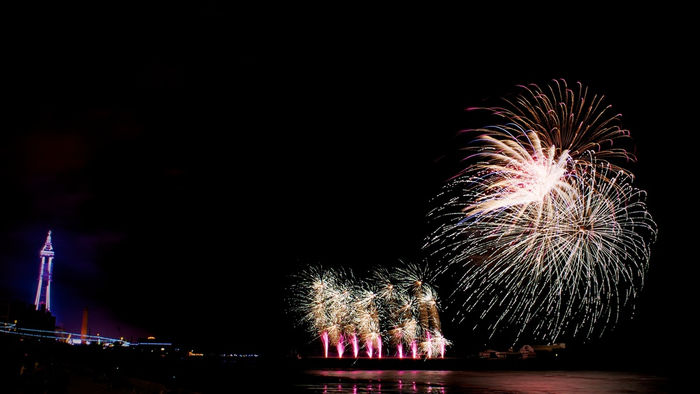 Blackpool Fireworks Championships - China (Friday 13th September 2013) - 05