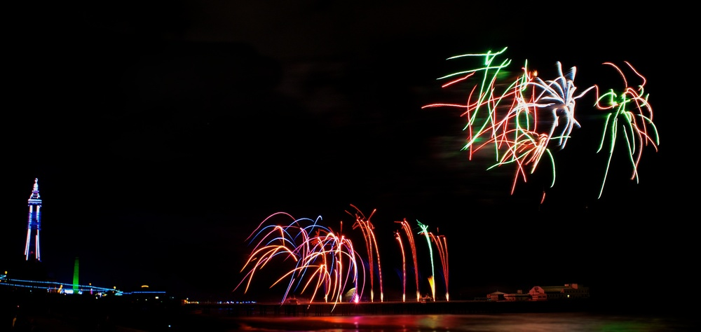 Blackpool Fireworks Championships - China (Friday 13th September 2013)  - 10