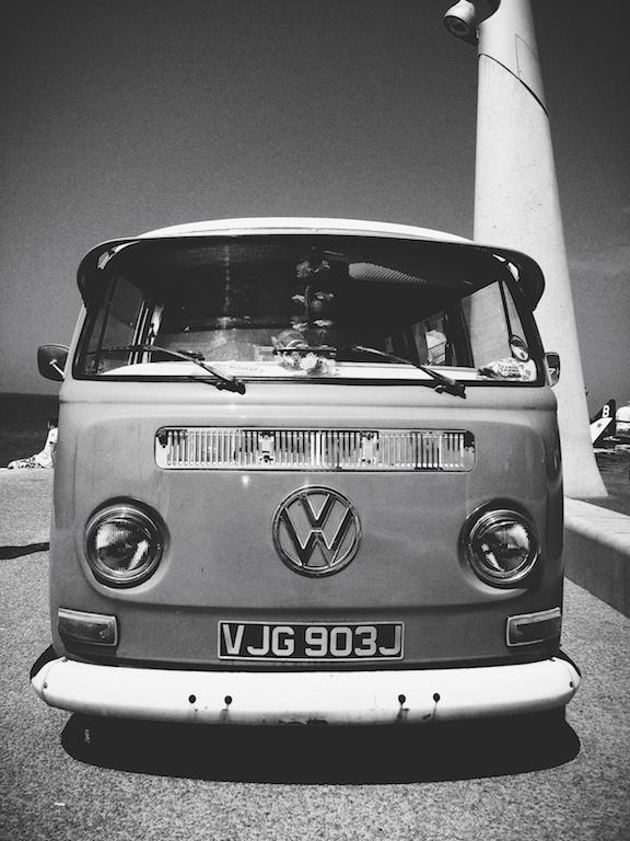 Portrait Crop VW Camper