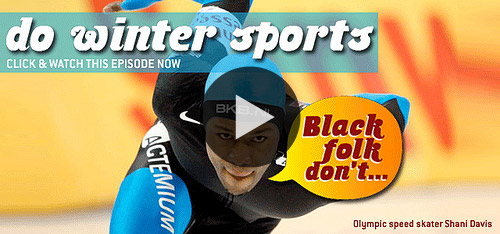"blip: Winter storm Athena has already made landfall in NYC, dumping a couple of inches of snow on her way. Time for winter sports? Maybe… irreverent, smart, and funny series Black Folk Don't explores the grey area between stereotype and truth to ""Black folk don't do winter sports."" WATCH NOW ON BLIP: Black Folk Don't Do Winter Sports"