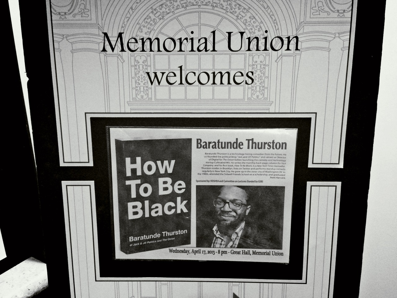 #showtime! #howtobeblack #goldchainsandironchainsarethesame at Iowa State Memorial Union – View on Path.