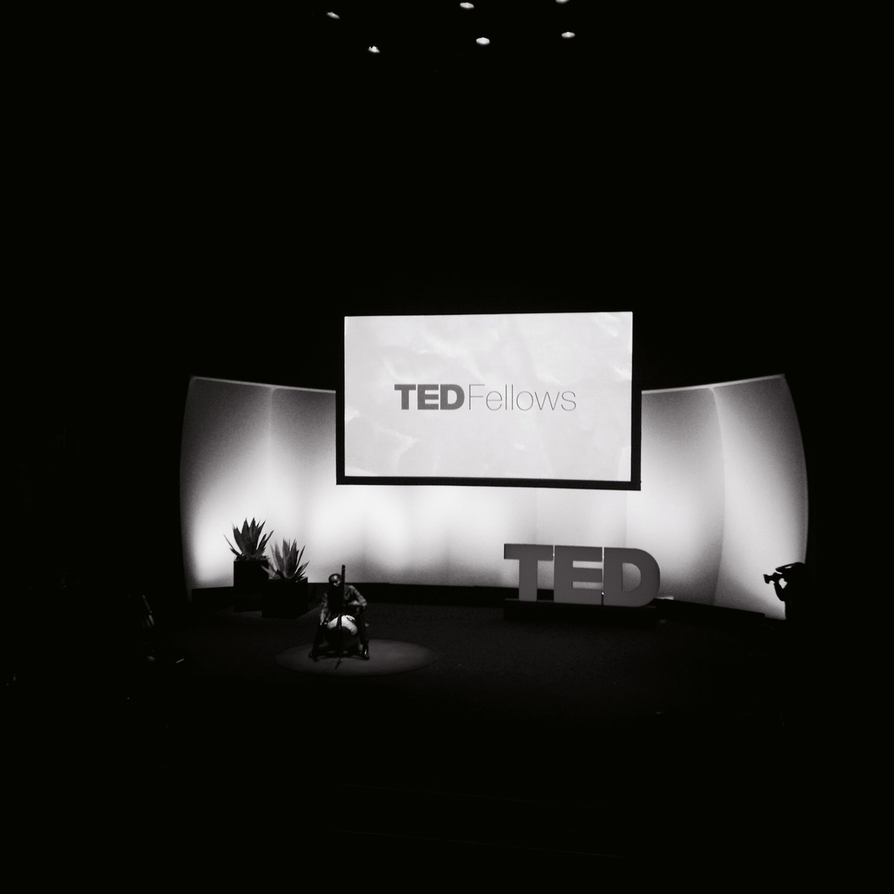 #TEDatunde #notlivetweeting but others are on #TED2013 at TED 2013 The Young, The Wise, The Undiscovered – View on Path.