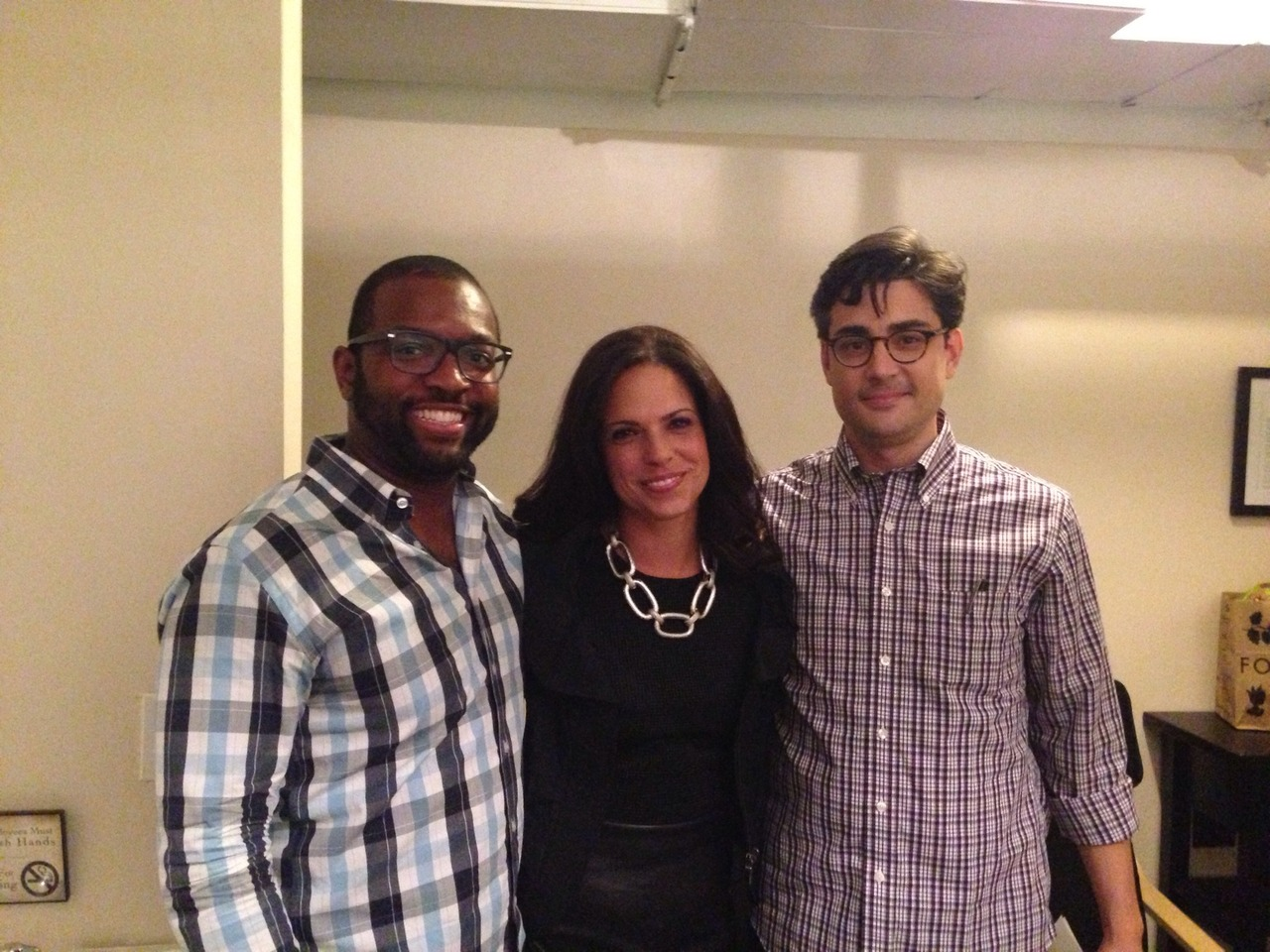 #showtime! W @soledad_obrien @tannercolby #aboutrace. STREAMING http://youtube.com/user/starfishmediagroup at SubCulture – View on Path.