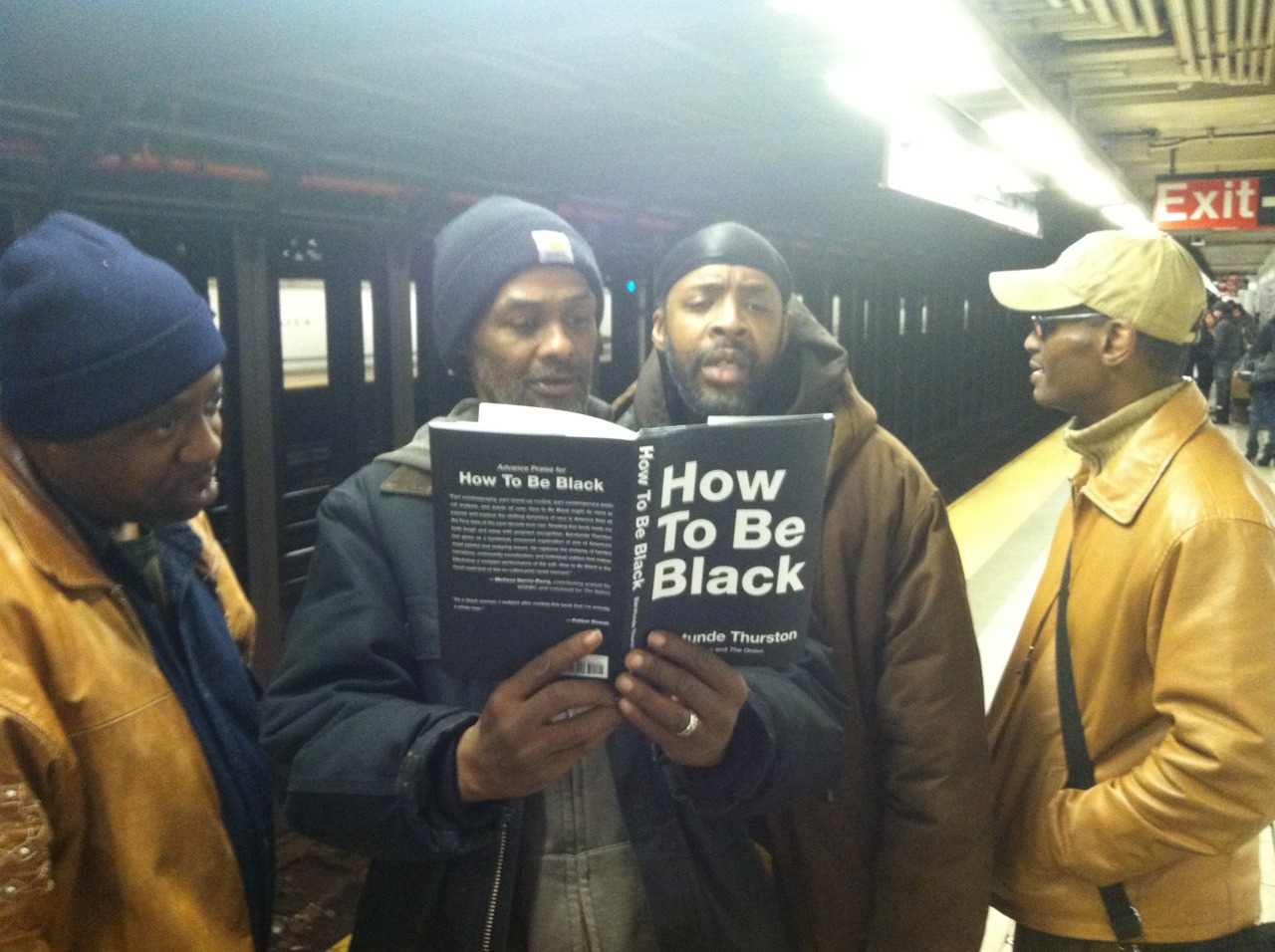 What happens when Neal Brennan (comedian and co-creator of Chappelle's Show) gets caught with a copy of How To Be Black in the NYC subway? BLACK PEOPLE INVESTIGATE!