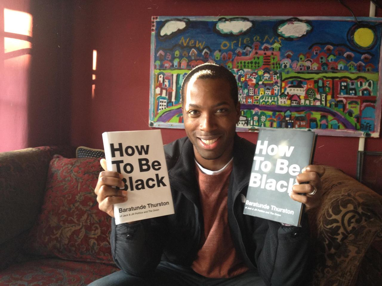 howtobeblackphotos :      Foursquare's  Tristan Walker  rocks both versions of How To Be Black at Nola's in Palo Alto where we discussed blacks in Silicon Valley, his love of small towns and the future of everything