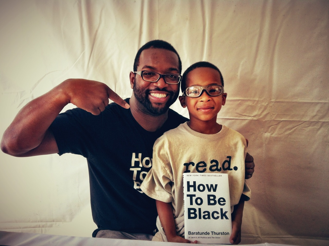 This adorable and innocent child can't be wrong. Read #HowToBeBlack – View on  Path .