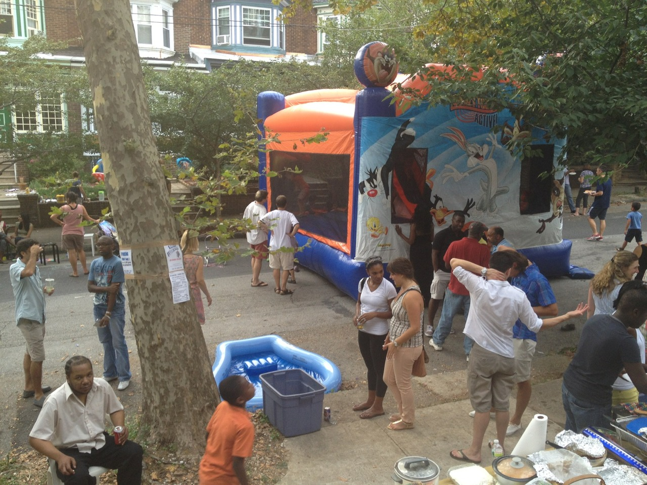 This is how I chill between political nonsense. at Tulante Block Party – View on Path.