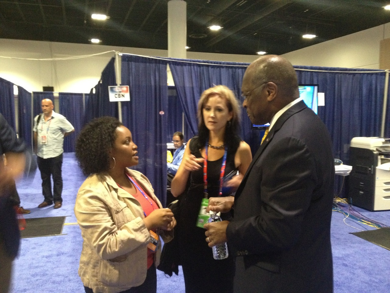 #gop2012 #negrospotting number 35: Herman Cain at Tampa Convention Center – View on  Path .