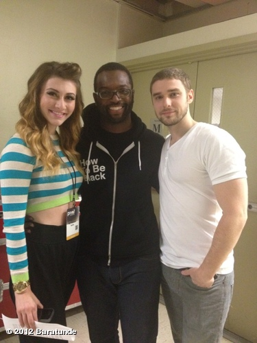 Oh snap! It's me hanging backstage with @karminmusic! They tried to steal my hoodie #pivotcon View more Baratunde on WhoSay