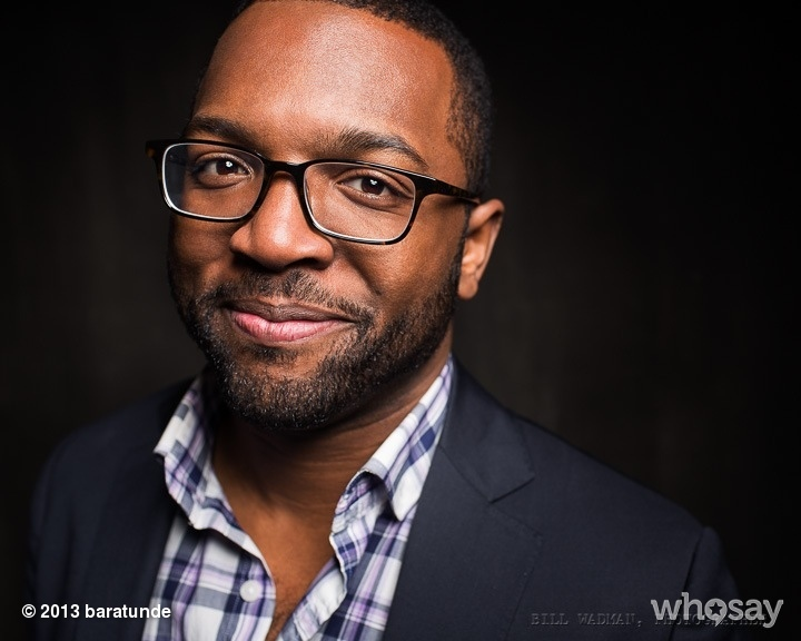 New headshot by the great @billwadman! View more Baratunde on WhoSay