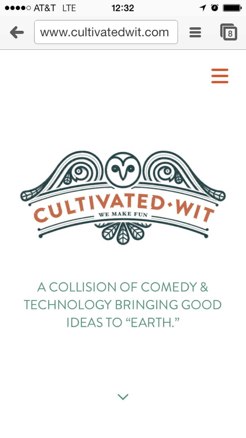 NEW WEBSITE!!! http://cultivatedwit.com please stress and joy test it – View on Path.