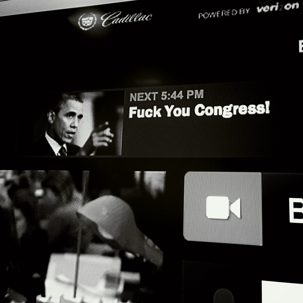 on @HuffPostLive 545p ET to discuss #FuckYouCongress site http://huff.lv/16S37kk http://fuckyoucongress.com – View on Path.