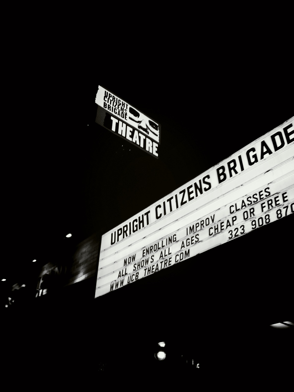 Showtime! W @myqkaplan and @heyitsliam. #NewYorkersInLA at Upright Citizens Brigade – View on Path.