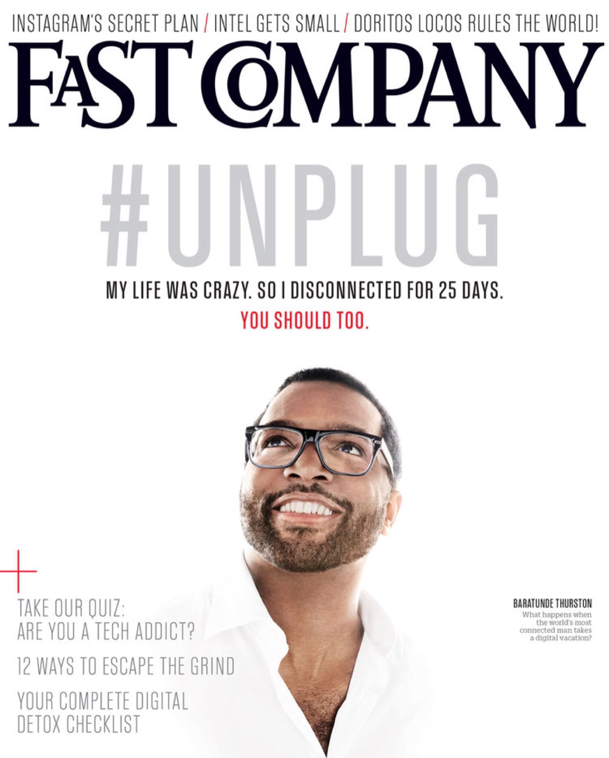 So this happened. #Unplug  Http://baratunde.com  – View on  Path .
