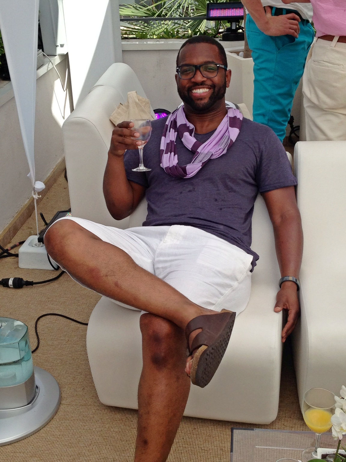 How I #unplug. #canneslions #traveltunde – View on Path.