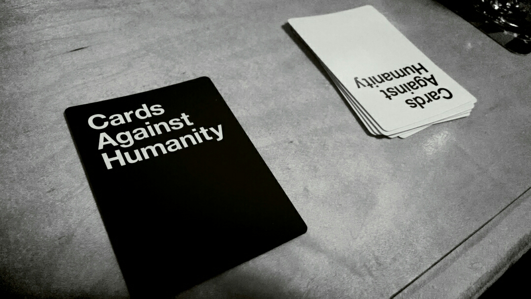 Playing #cardsagainsthumanity with the good people of #lansing at Michigan Brewing Company – View on  Path .