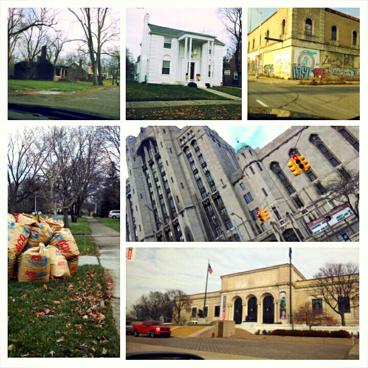 A few of the sites from today's tour of Detroit with with Shaka – View on Path.