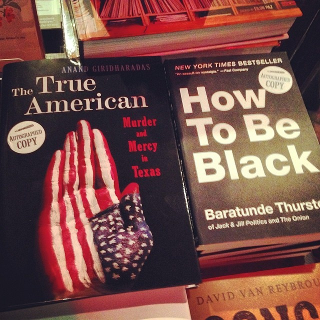 This book on the left The #TrueAmerican is worth your read. The story of two men with strong claims to this country. One was born here and so broken and confused and hate filled that he responded to 9/11 by shooting three South Asian gas station clerks. Two died. The one who survived is the other subject of this book. A Bangladeshi immigrant who found it in himself and Islam to forgive his attacker and fight to free him from death row. #readthisbook