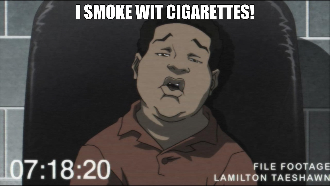 theboondockstv :     Top Boondocks Quotes #8 (Season 3, Episode 6).  New Boondocks,  Monday at 10:30p.  [adult swim]