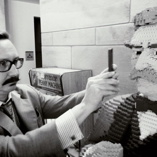#mustache #legos