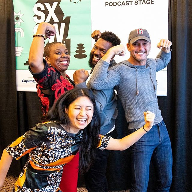 So clearly this was fun. Just a normal day flexing at the end of the Old Town Road with a country music legend.⠀⠀⠀⠀⠀⠀⠀⠀⠀ ⠀⠀⠀⠀⠀⠀⠀⠀⠀ We're back for season 2 with our first live #SpitPodcast featuring @TheTimMcGraw! At SXSW I sat down with Tim, @Type2Ceo Tracey D. Brown, CEO, American Diabetes Association, and @ourLARK CEO/Founder Julia Hu.⠀⠀⠀⠀⠀⠀⠀⠀⠀ ⠀⠀⠀⠀⠀⠀⠀⠀⠀ This was a groundbreaking conversation around technology, diabetes and advocacy. There are some terrifying statistics in play -- more than 30M Americans live with diabetes; over 84M live with pre-diabetes -- but also some things we can do to catch the disease early and manage it better.⠀see link in bio to listen ⠀⠀⠀⠀⠀⠀⠀⠀ ⠀⠀⠀⠀⠀⠀⠀⠀⠀ #diabetes #health #podcast #sxsw #type2 #music #countrymusic #healthapp #live #conversation #interview #iheart #iheartradio