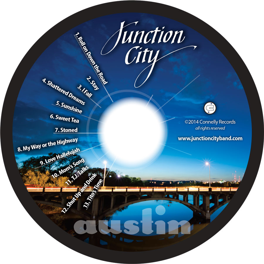 CD disc art