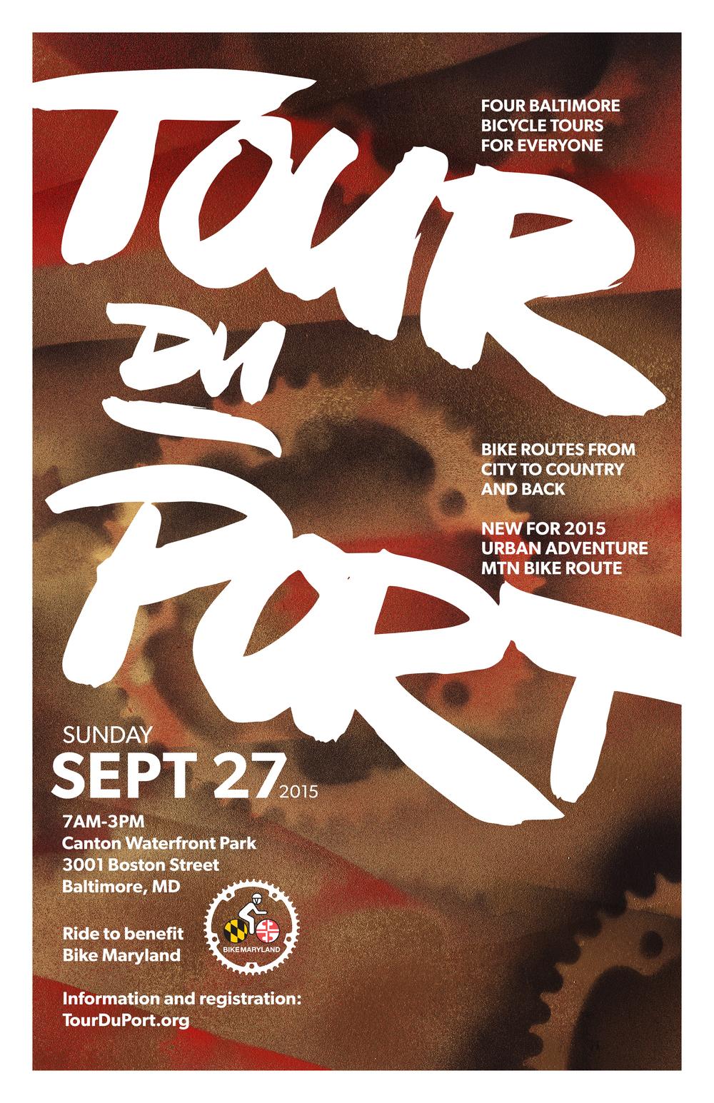 Tour du Port Poster 2015