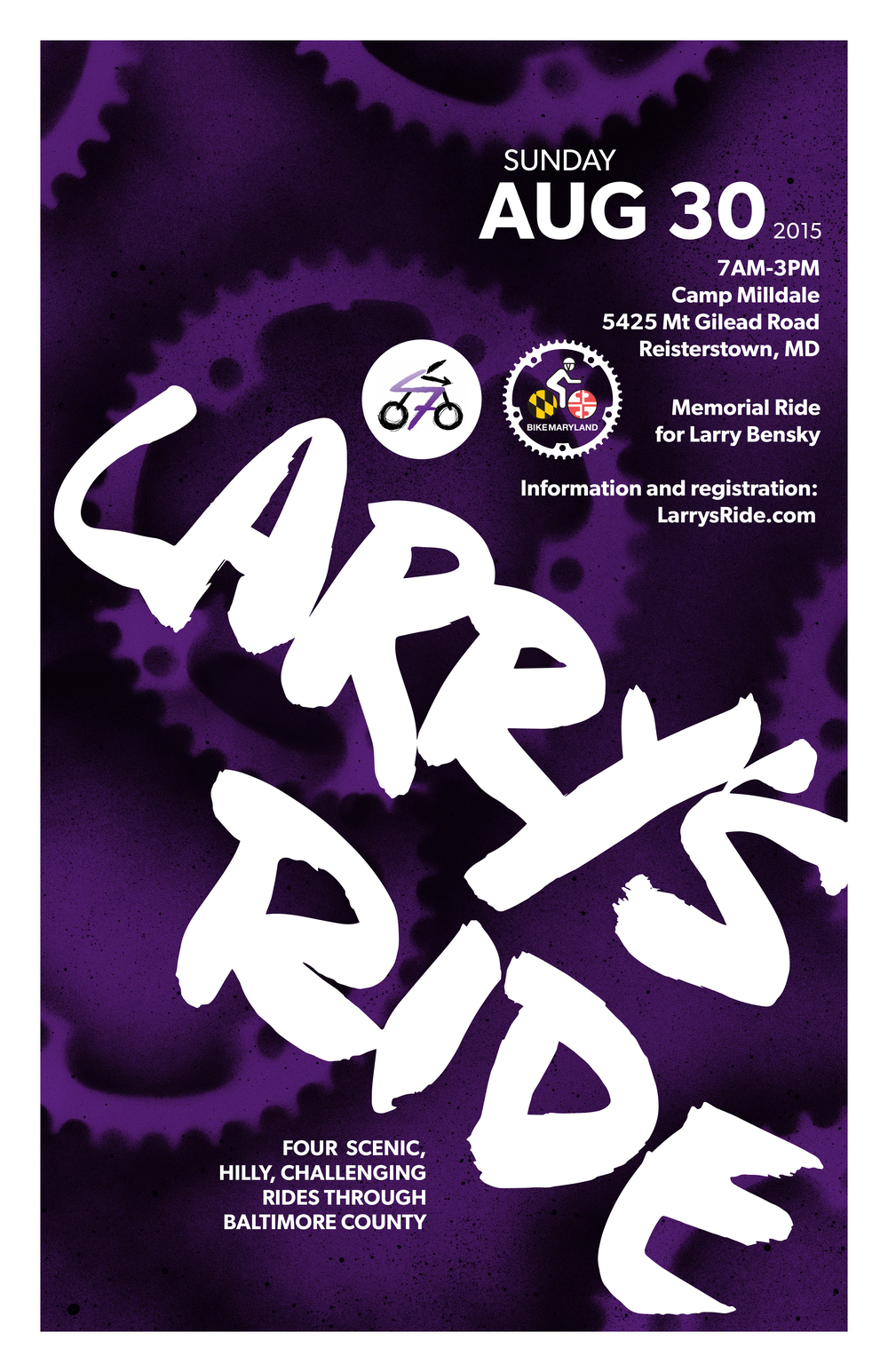 Larry's Ride Poster 2015