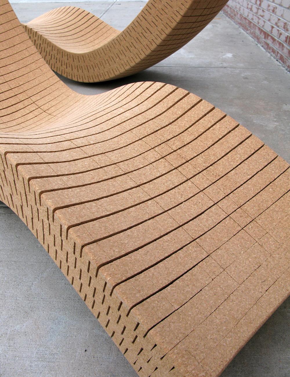 Cortiça chaise longue (detail)