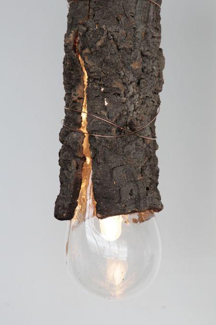 Bark Lamp