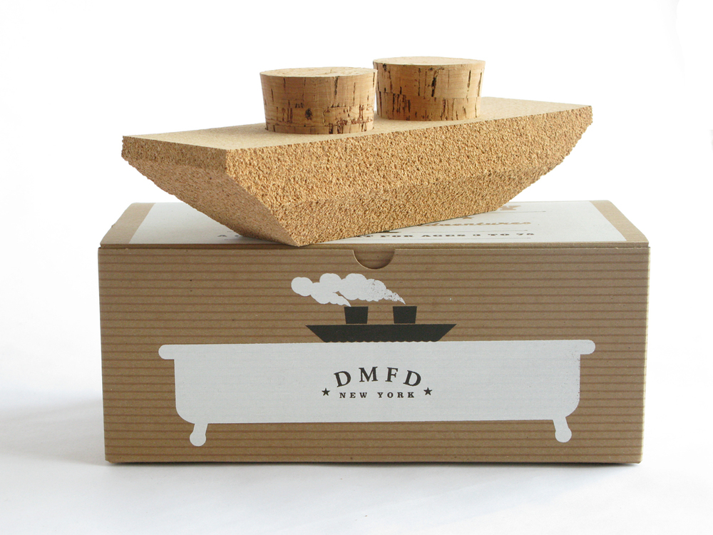 Cork Bath Toy - Dinghy