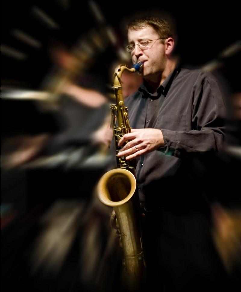 Guest Saxophonist  Andrew Bishop