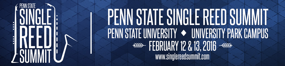 Penn State Single Reed Summit
