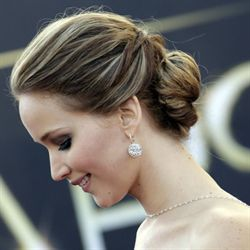 Jennifer Lawrence, Up-do Step by Step