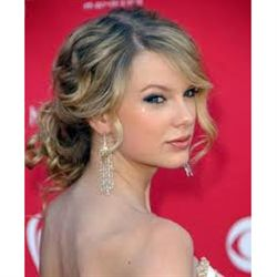 Taylor Swift, Loose Up-do, step by step
